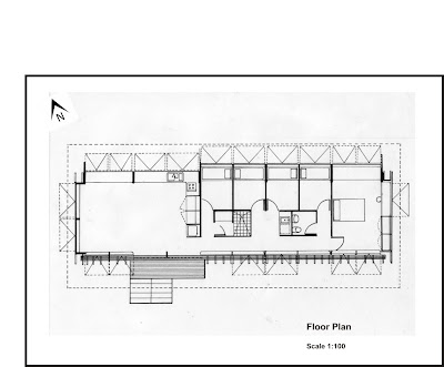 Free home plans farnsworth house plans for Farnsworth house floor plan
