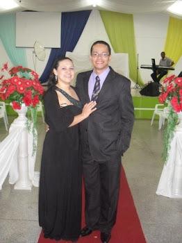 Pr Cristiano Fernandes e Cristiane.