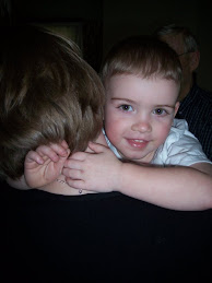 Adam Hugging Aunt Kim