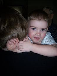 Adam Hugging Aunt Kim