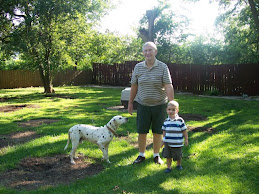 Granddad, Adam, and Duke