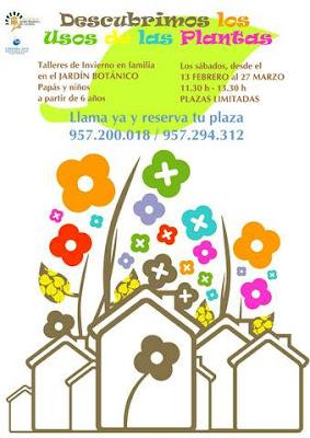 F sica divertida talleres del jardin bot nico de c rdoba for Talleres jardin botanico