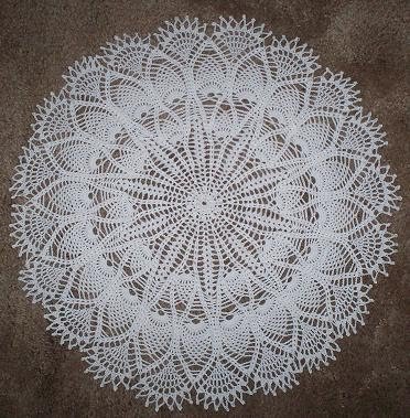CROCHET DOILY PATTERNS INSTRUCTIONS FREE CROCHET PATTERNS
