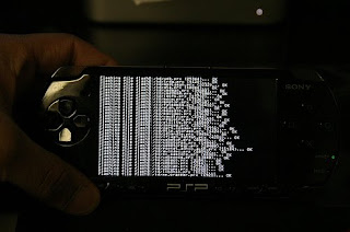 hacked psp