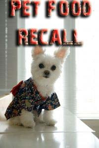 pet food recalled