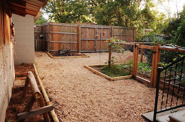 urban -sufficientist backyard