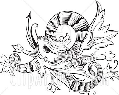 Tribal Chinese Dragon Tattoo Design. Posted by imam at 8:17:00 PM