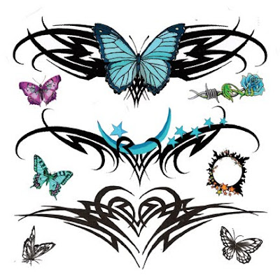 Tattoos Tribal on Tribal Tattoos For Lower Back   Tribal Tattoo Flash Designs Gallery