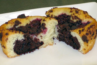 Dufflet's Cherry Chocolate Mini Cake