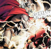 Thor vs Iron Man