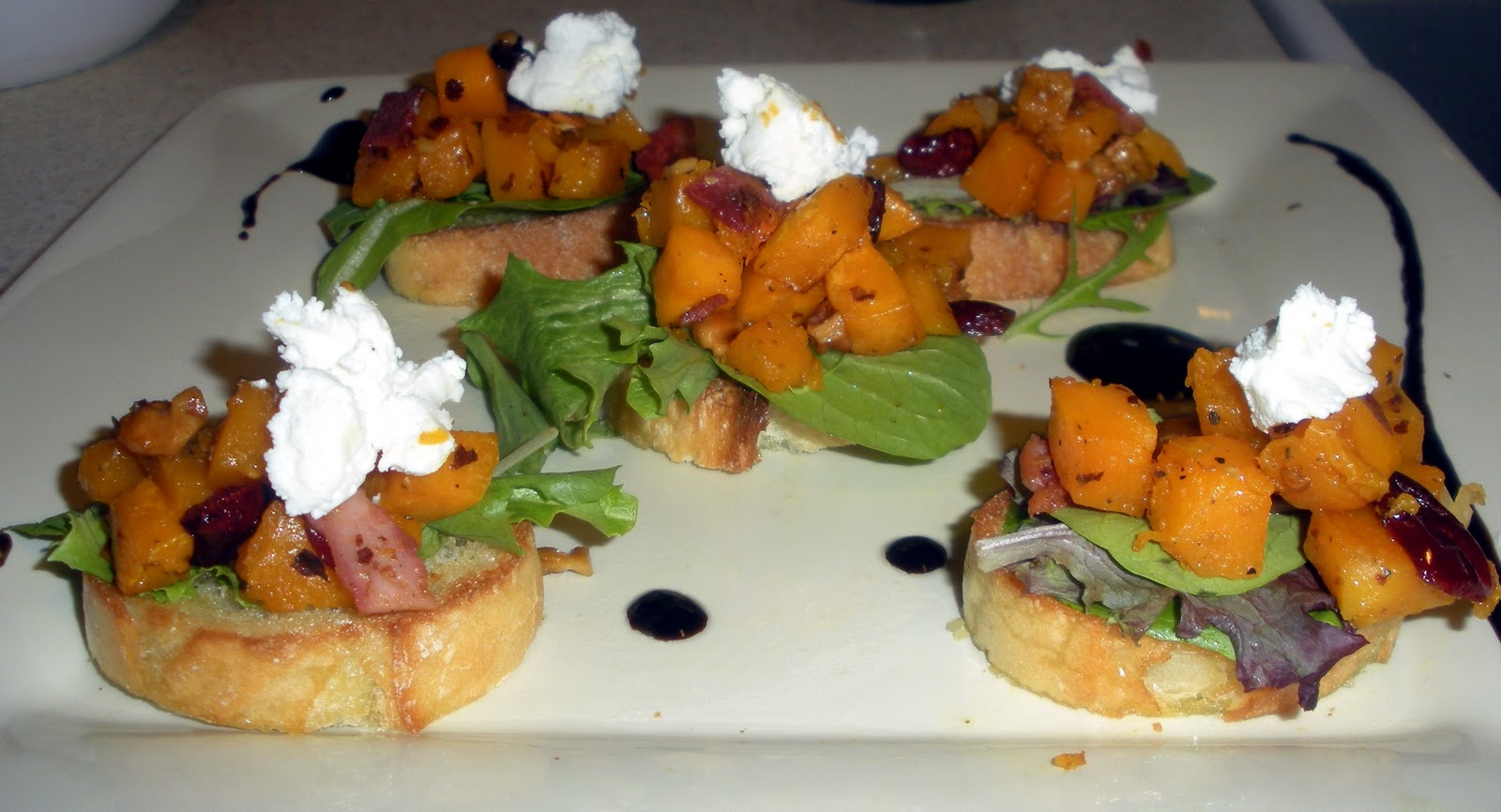 Butternut squash bruschetta!! | Make the Best of Everything