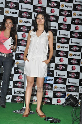 Cute Actress Prachi Desai Hot pictures at Zapaks new game launch