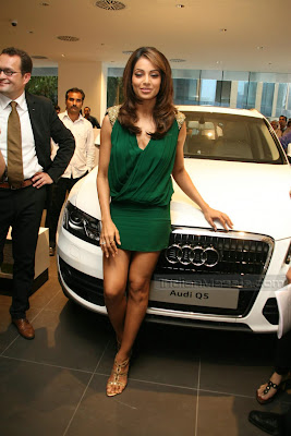 Actress Bipasha Basu EXPOSING HOT Pictures at Audi India show room launch