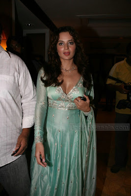 Bollywood Actress Kangana Ranaut hot Pictures from Movie Knock Out party