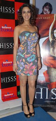 HOT INDIAN MASALA Actress Mallika Sherawat Spicy Hot Photos From HISSS promotion