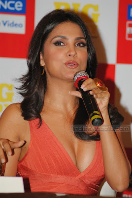 Actress Lara Dutta hot Photos  Bollywood Hot Beauty Lara Dutta ultimate hot figure display at her Yoga DVD launch unseen pics