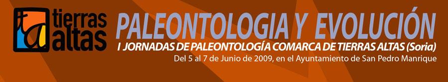 I Jornadas paleontología de Tierras Altas (Soria)