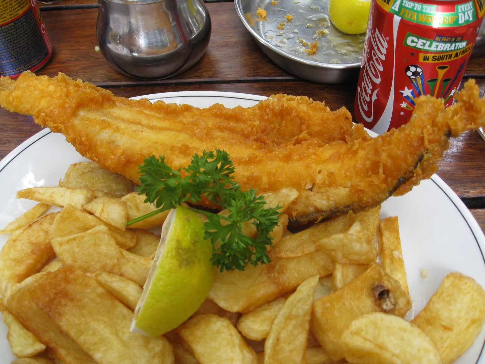 Sesame tea eats rock and sole plaice fish and chips for Fish and chips london