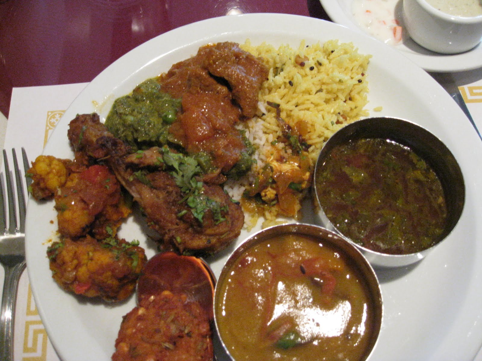 Sesame tea eats om south indian novato for Anokha cuisine of india novato
