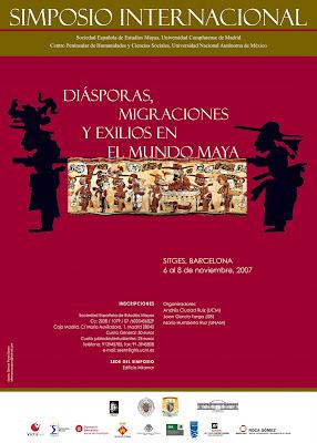 Agenda cultural del consulado general de m xico en barcelona simposio internacional de cultura maya - Agenda cultura barcelona ...
