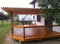 Cedar Decking