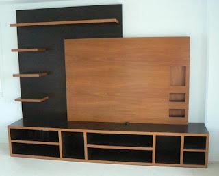 Zavasmuebles carpinteria de dise o mueble para plasma - Mueble tv plasma ...
