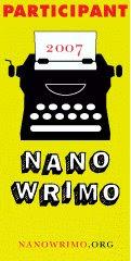 Nanowrimo 2007