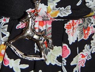 Topshop Rocking Horse Necklace