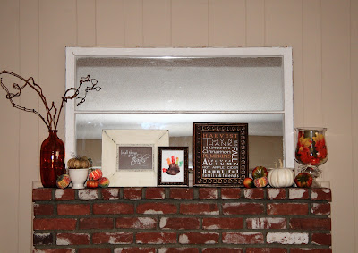 My Fall Mantle and Fall Scripture & Subway Art Printables