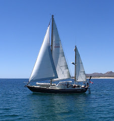 Under sail in Los Frailes