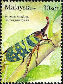 Insects Series 30sen Lantern Bug Stamp