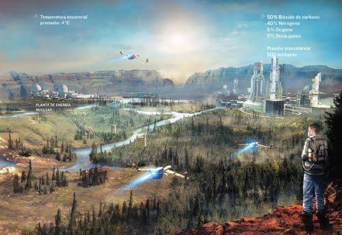 Resultado de imagen de Marte será habitable