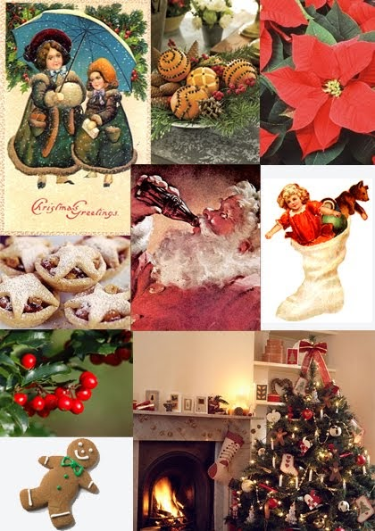Strawberry House Interiors Christmas Moodboards Part 1