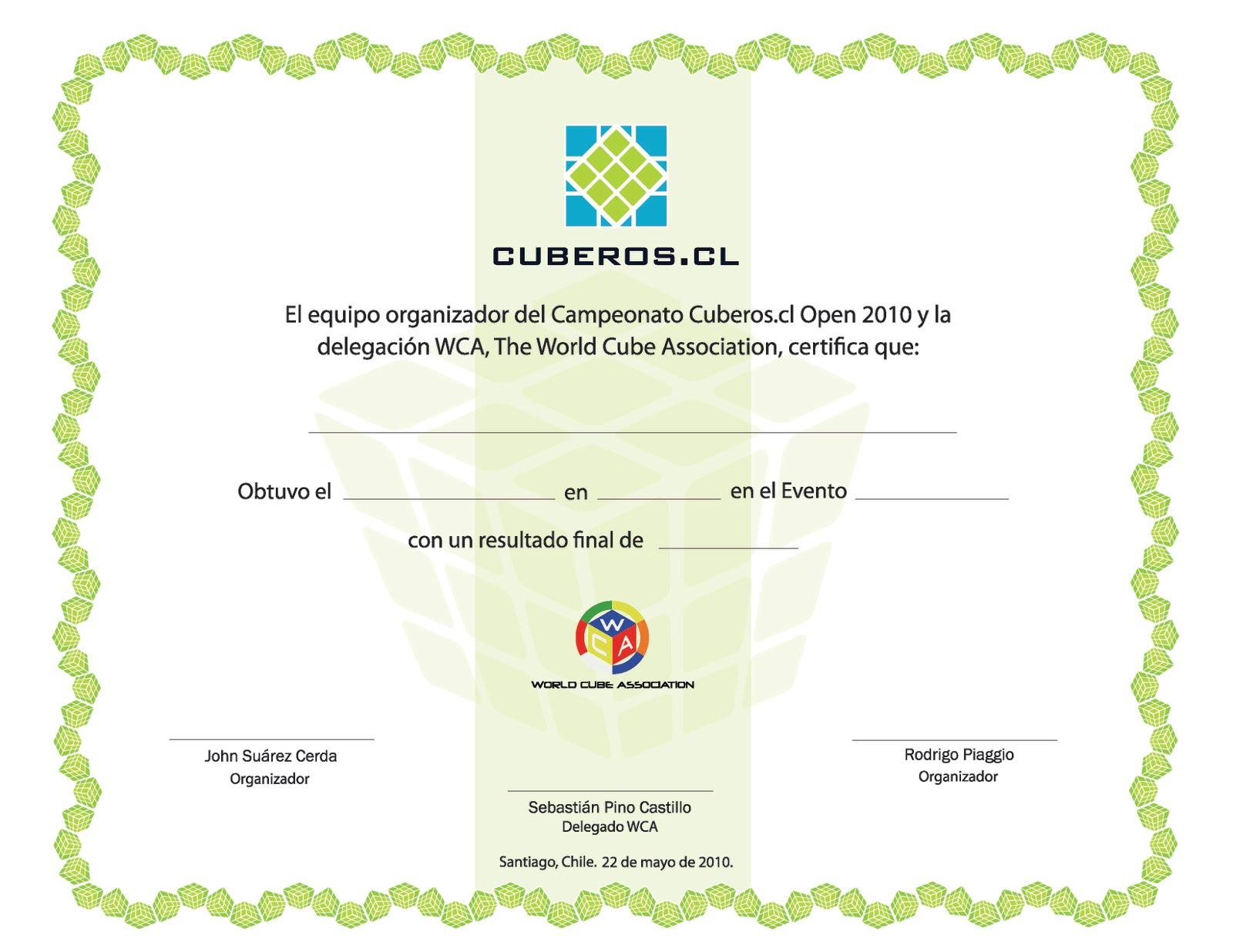 Dise  O De Diploma Para Evento Del 22 De Mayo De  Cuberos Cl