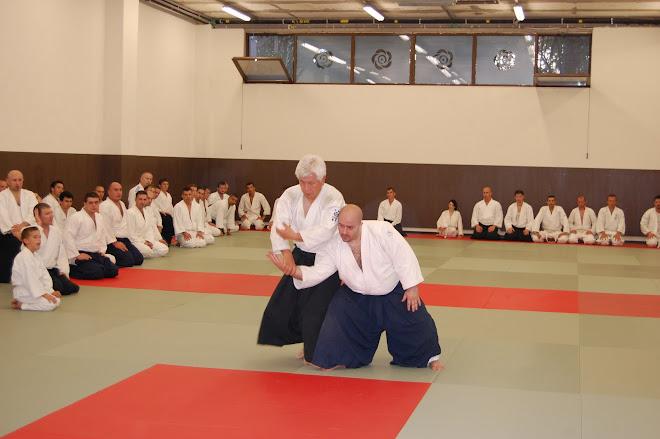 Shihan Koichi FUJII si Sensei Sorin Despa