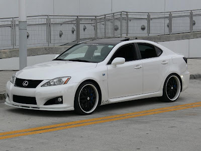 white lexus isf wallpaper