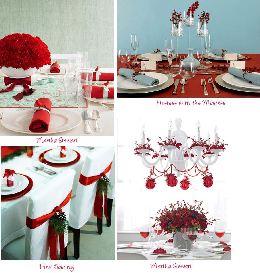 Yarah Designs Christmas Tablescapes