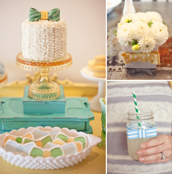 this bow tie baby shower thrown for jesi haack hwtm featured this baby
