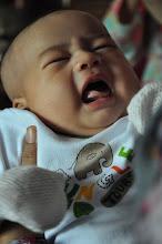 Ahmad Nuh Haziq 2 Months old