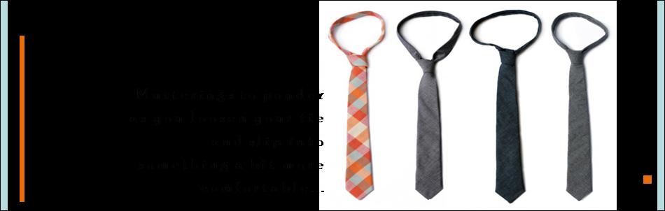 loosen my tie