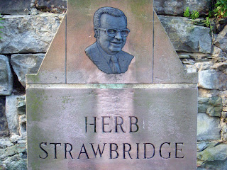 Herb Strawbridge Memorial Plaque