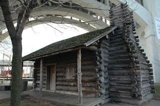 Irish Famine House on banks of Cuyahoga