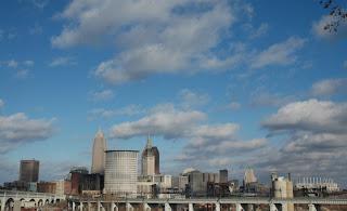 An Unusual Winter Cleveland Sklyine