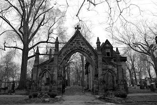 Monroe Cemetery Gate Full View