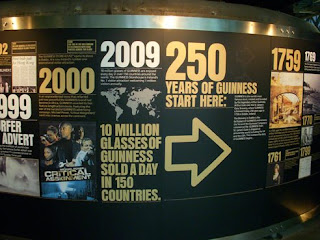 250 Year Anniversary Commerative at Guinness factory