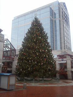 The Christmas Tree at Faneuil Hall Marketplace