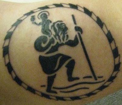 Saint Christopher Tattoos