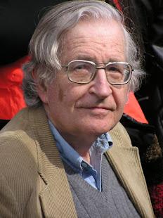 Noam Chomsky y la manipulación mediática...