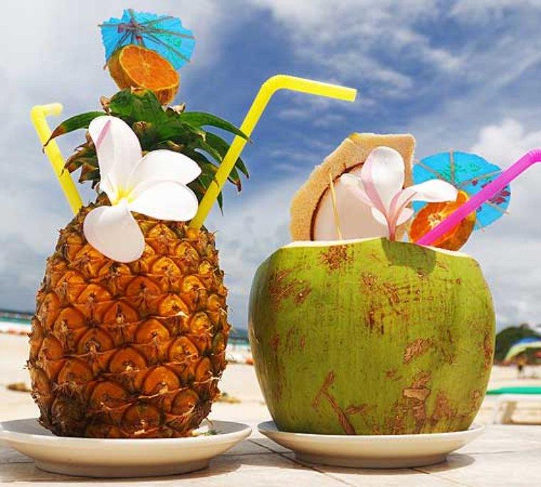 tropical drinks gif 