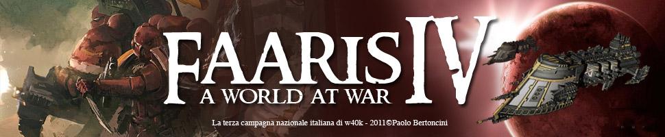 Faaris IV  A World at War